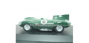 coche miniatura Jaguar D Type 1956 1/43 Edic del Prado