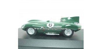 miniature car Jaguar D Type 1956 1/43 Edic del Prado