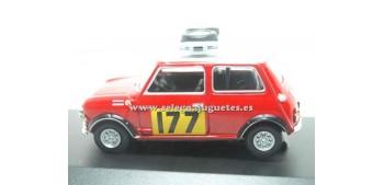 miniature car Mini cooper Montecarlo 1967 1/43 Edic. del Prado