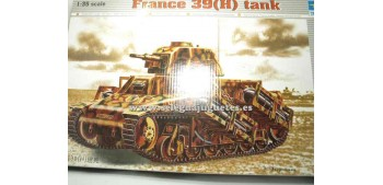 maqueta coches Hotchkiss 39(H) Tanque 1/35 Trumpeter