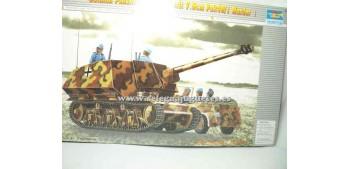 maqueta coches German Panzerjäger 39(H) Tanque 1/35 Trumpeter