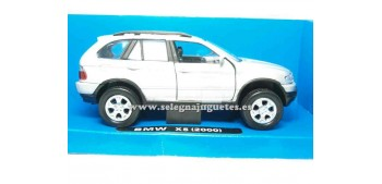 coche miniatura Bmw X5 gris 1/32 New Ray