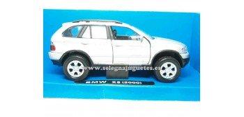 miniature car Bmw X5 grey 1/32 New Ray