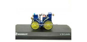 coche miniatura L'Eclair Michelin 1/43 Altaya