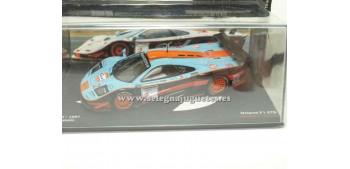 miniature car Mclaren F1 GTR FIA GT 1997 Hockenheim 1/43 Ixo