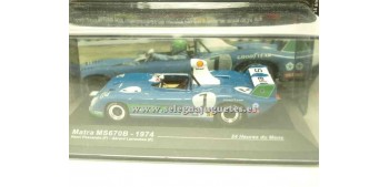 miniature car Matra Ms670B 1974 Le Mans 1/43 Ixo
