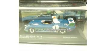 coche miniatura Matra Ms670B 1974 Le Mans 1/43 Ixo