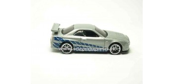 miniature car Nissan Skyline GT-R Fast & Furious (without box)