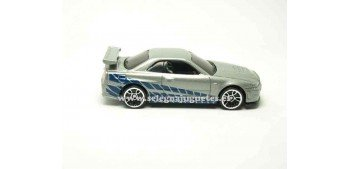 Nissan Skyline GT-R Fast & Furious (without box) 1/64 Hot Wheels