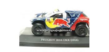coche miniatura Peugeot 2008 DKR Dakar 2016 (vitrina) 1/43 Ixo