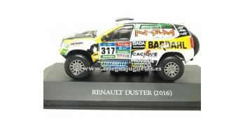 coche miniatura Renault Duster 2016 Dakar (vitrina) 1/43 Ixo