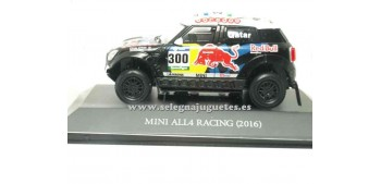 miniature car Mini All4 Racing 2016 Dakar (showcase) 1/43 Ixo
