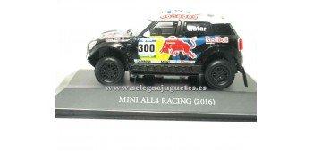 coche miniatura Mini All4 Racing 2016 Dakar (vitrina) 1/43 Ixo
