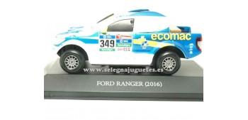 miniature car Ford Ranger 2016 Dakar (showcase) 1/43 Ixo