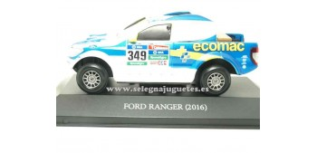 coche miniatura Ford Ranger 2016 Dakar (vitrina) 1/43 Ixo