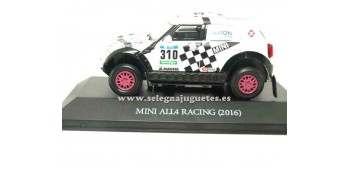 miniature car Mini All4 Racing 2016 Axion Dakar (showcase) 1/43