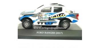 coche miniatura Ford Ranger 2017 Dakar (vitrina) 1/43 Ixo