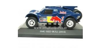 coche miniatura Smg Red Bull 2014 Dakar (vitrina) 1/43 Ixo