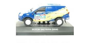 miniature car Foton Sauvana 2016 Dakar (showcase) 1/43 Ixo