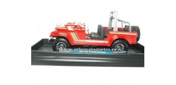 coche miniatura Jeep Wrangler 1/24 BBurago