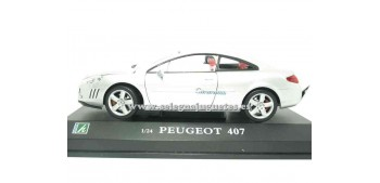 coche miniatura Peugeot 407 coupe 1/24 Cararama