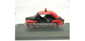 coche miniatura Renault 4 Policia 1/43 Eligor