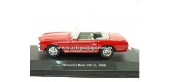 coche miniatura Mercedes Benz 280 SL 1968 1/43 New Ray