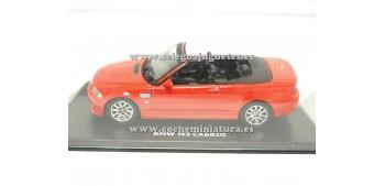 coche miniatura Bmw M3 Cabriolet rojo 1/43 Maxi Cars
