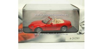 coche miniatura Mazda Mx5 1/43 Cararama