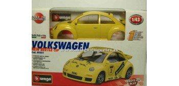 coche miniatura Volkswagen New Beetle Cup Montar 1/43 BBurago