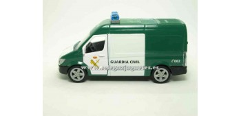miniature car Furgón Guardia Civil 1:43 Playjocs