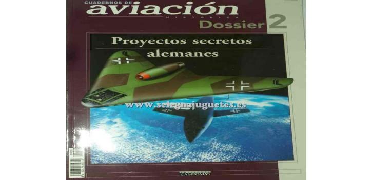 avion miniatura Avión - Libro - Proyectos Secretos Alemanes