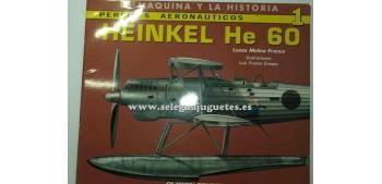 avion miniatura Avión - Libro - Heinkel He 60