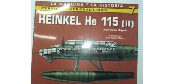 avion miniatura Avión - Libro - Heinkel He 115 (II)