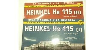 lead figure Airplene - Book - Heinkel He 115 (I + II)