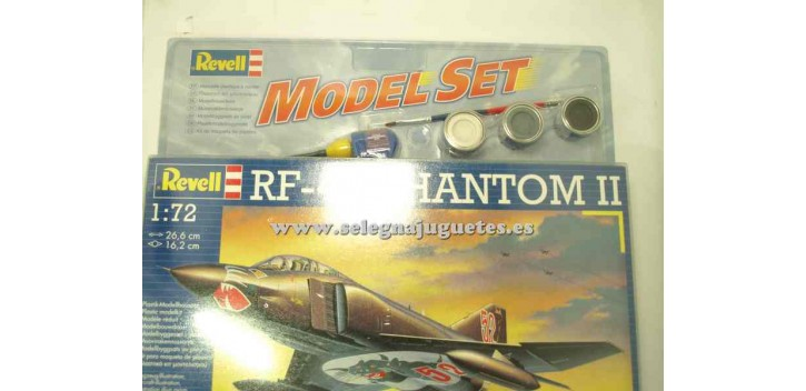 maqueta coches RF-4E Phantom II escala 1/72 Revell