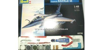 miniature airplane DASSAULT RAFALE M scale 1/48 REVELL AVION