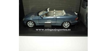coche miniatura Mercedes Benz Clk Cabrio escala 1/18 Kyosho