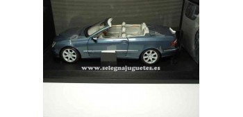 miniature car Mercedes Benz Clk Cabrio scale 1/18 Kyosho