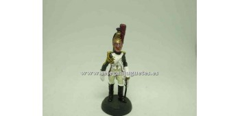 lead figure DRAGON A CABALLO SOLDADO PLOMO 1/32 ALMIRALL 008