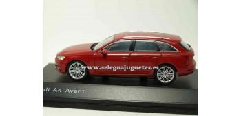 lead figure Audi A4 Avant Tango Red 1:43 Spark
