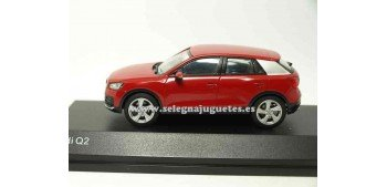 lead figure Audi Q2 Tango Red 1:43 Spark