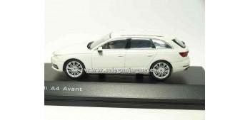 lead figure Audi A4 Avant Glaciar White 1:43 Spark