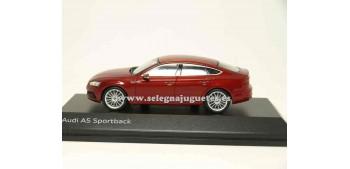 lead figure Audi A5 Sportback Matador Red 1:43 spark