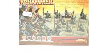 lead figure Warhammer Battle for Skull Pas Paint Set