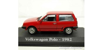 lead figure Volkswagen Polo 1982 1/43 (Showcase) Ixo - Rba