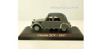 lead figure Citroen 2CV 1957 (Vitrina) 1/43 Ixo - Rba