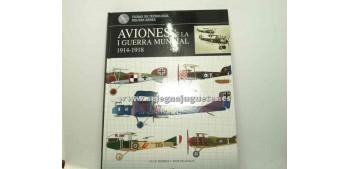 lead figure Airplene - Book - AVIONES DE LA I GUERRA MUNDIAL