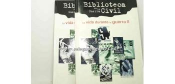 lead figure Book - BIBLIOTECA GUERRA CIVIL - LA VIDA DURANTE LA