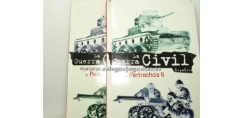 lead figure Book - LA GUERRA CIVIL ESPAÑOLA - ARMAS Y